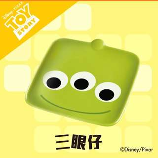 711 7-11 7-Eleven Pixar陶瓷碟 三眼仔
