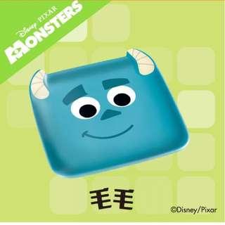 711 7-11 7-eleven Pixar 陶瓷碟 毛毛