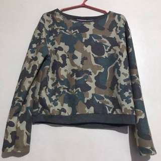 Camouflage long sleeves