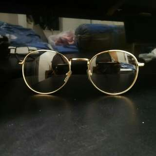 INSTOCK [gold] [round circle oval] Korean spectacles Korean specs ulzzang