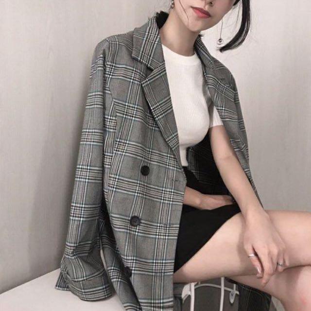韓範爆買款,ㄧ衣2穿,外套也是裙👍🏻👍🏻