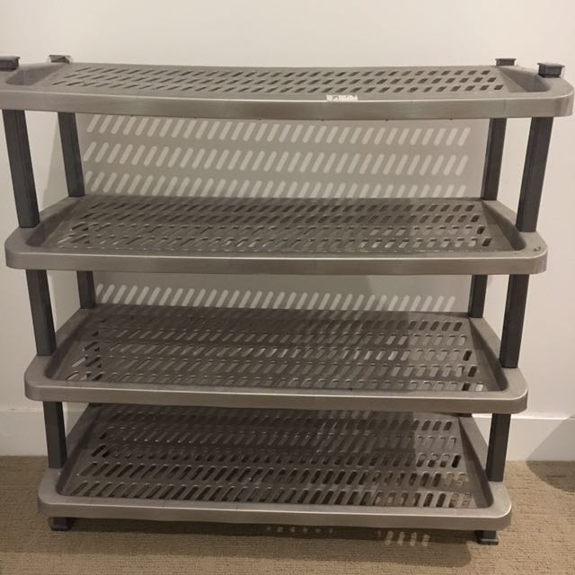 4-tiered Shoe Rack