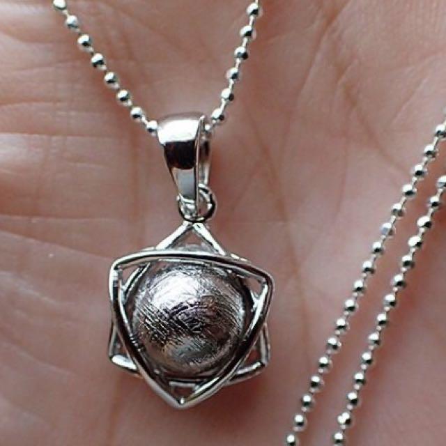 六芒星925純銀墜飾