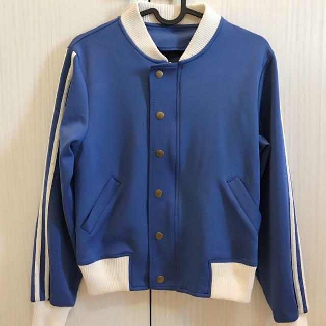 韓國復古質感運動外套💙