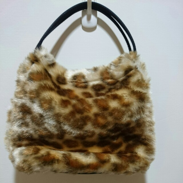 豹紋手提小包