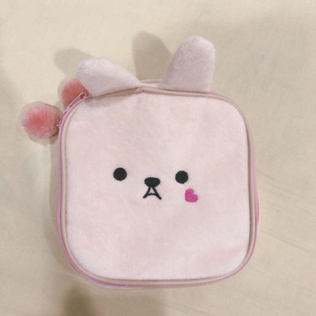 兔子化妝收納包