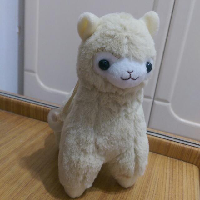 米黃 草泥馬 羊駝