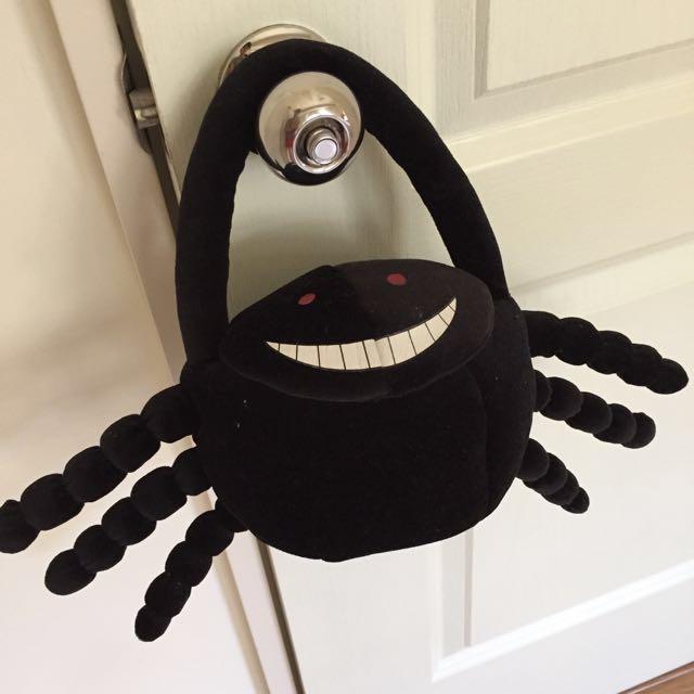 #萬聖節必備_黑蜘蛛手提包