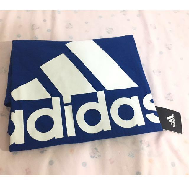 愛迪達 Adidas T 短袖 男s 藍色 Logo