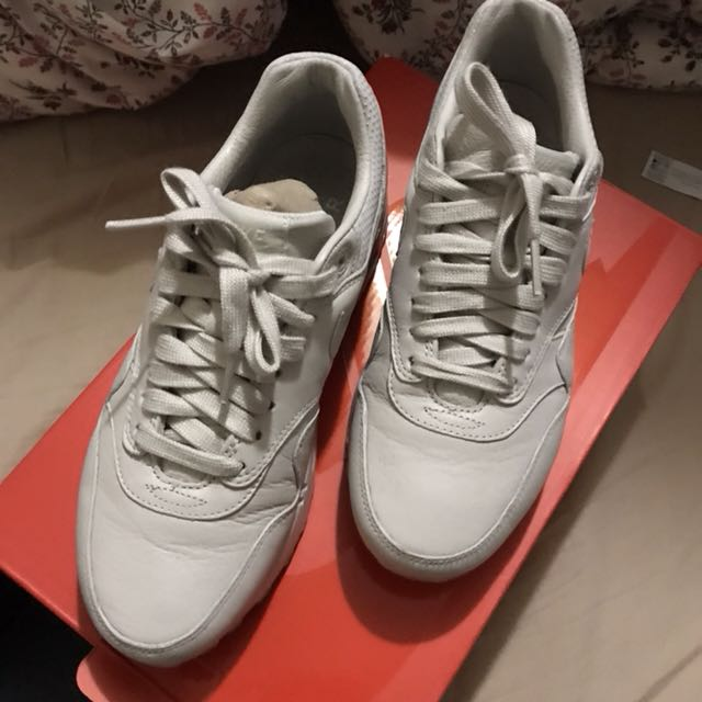 日本帶回 Nike 女鞋 air max 1 pinnacle 裸色球鞋 flyknit nikefree