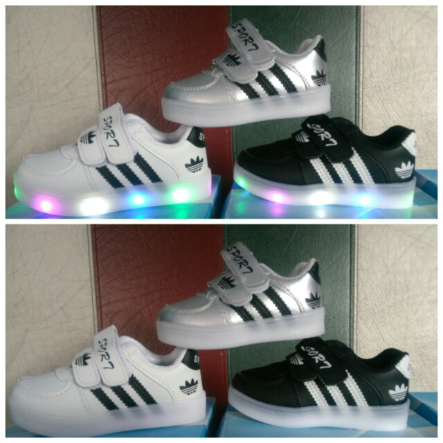 adidas led sneakers