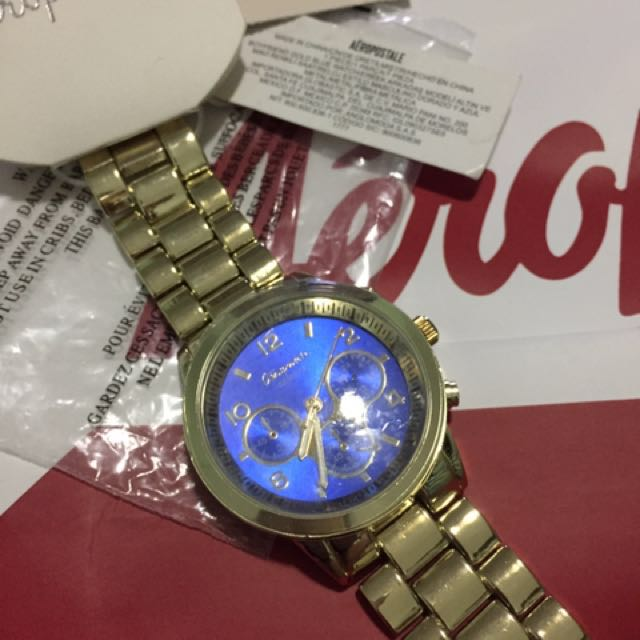 Aero Gold Boyfriend Watch