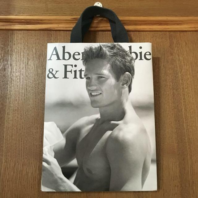 【美國】A&F 紙提袋