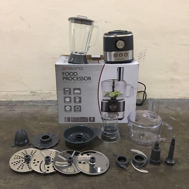 Ambiano - 1000W Food Processor from Australia, Home