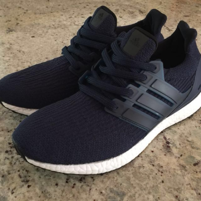 Authentic Ultraboost 3.0 Men's Size 8:5 Navy Blue New