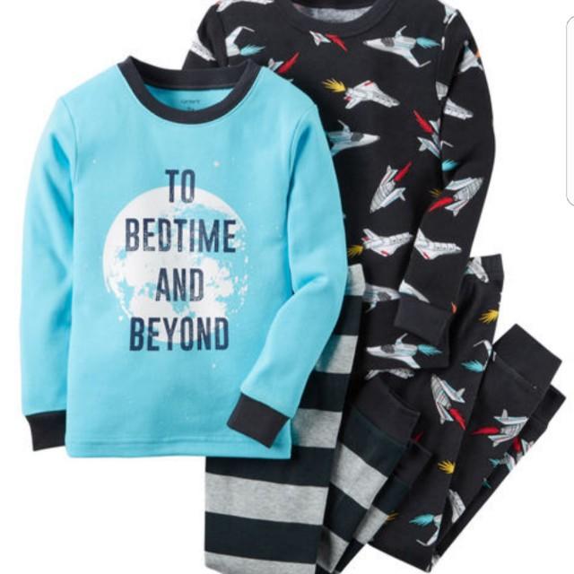 28d44dd5d Baby boy - Carters 4-Piece Snug Fit Cotton PJs