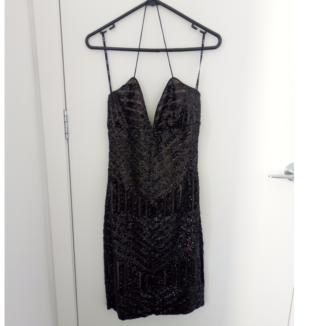 a88a0b46 Bardot Shanina Sequin Dress / AU Size10, Women's Fashion, Clothes on  Carousell