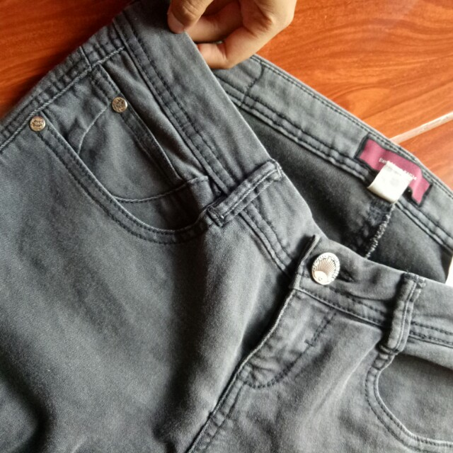 Bershka dark grey jeans