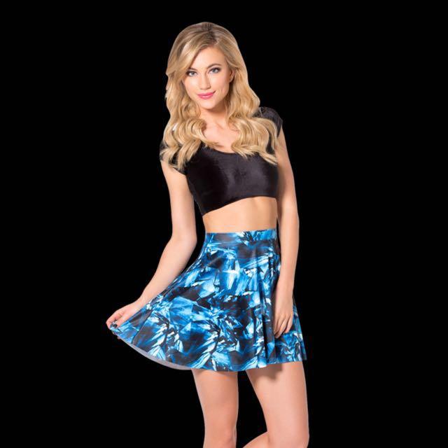 Black milk sapphire skirt