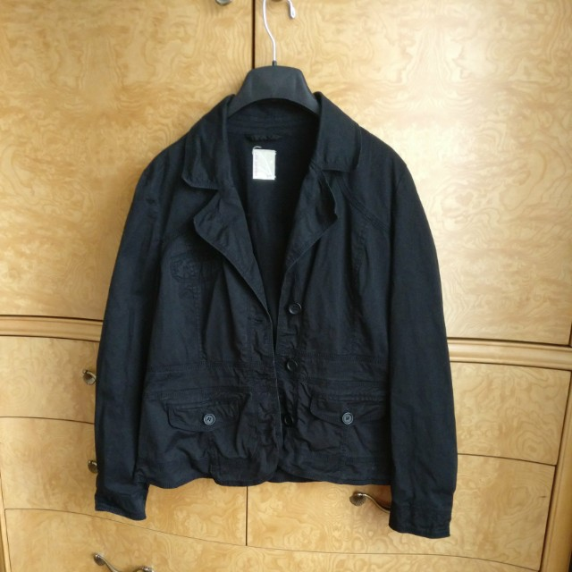 Black XL SmartSet Coat