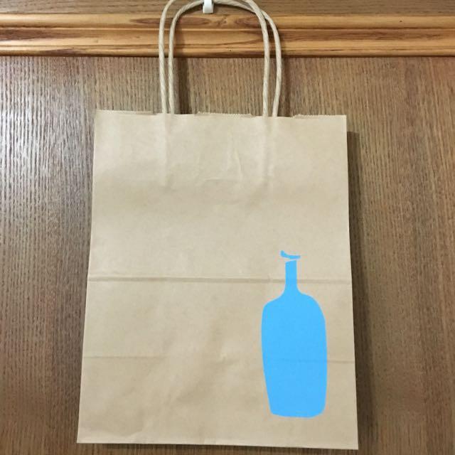 【日本】BLUE BOTTLE 紙提袋