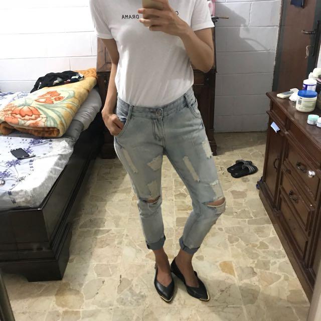 Boyfriend jeans by Magnolia