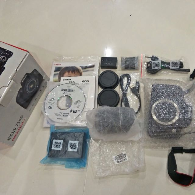 Brand New Authentic EOS 750D DSLR Camera
