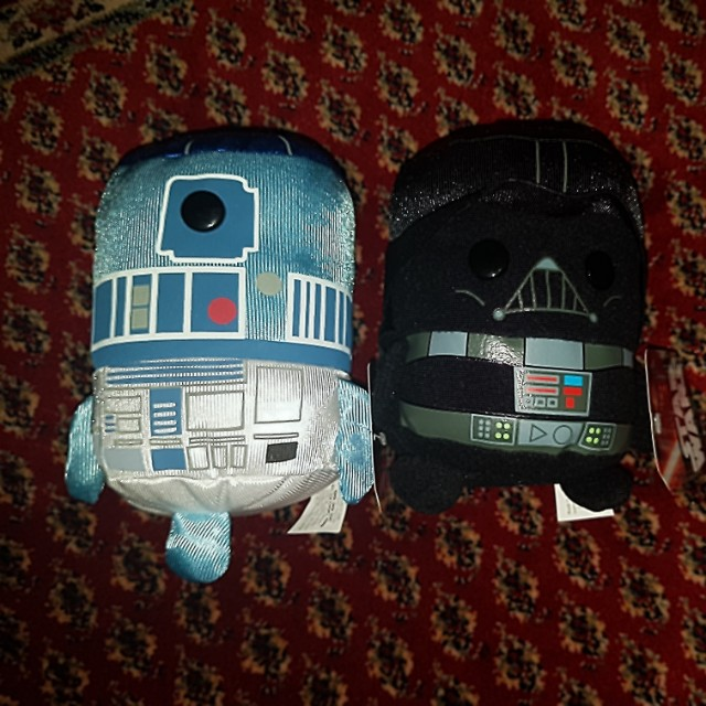 Brand new star wars Darth Vader r2d2 chewbacca collection
