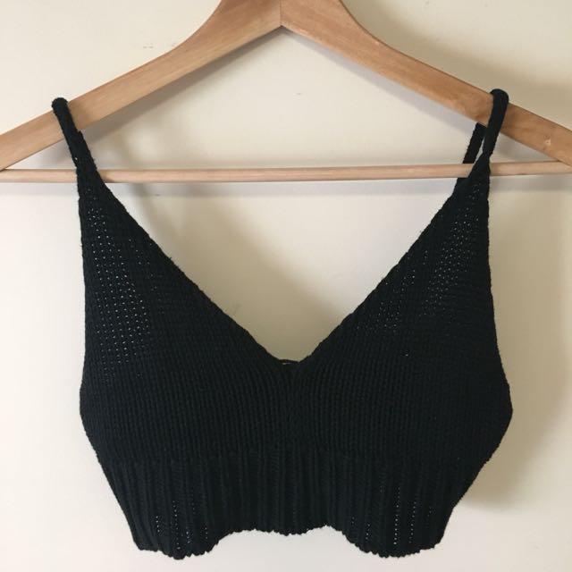 Brandy Melville Knitted Bralet