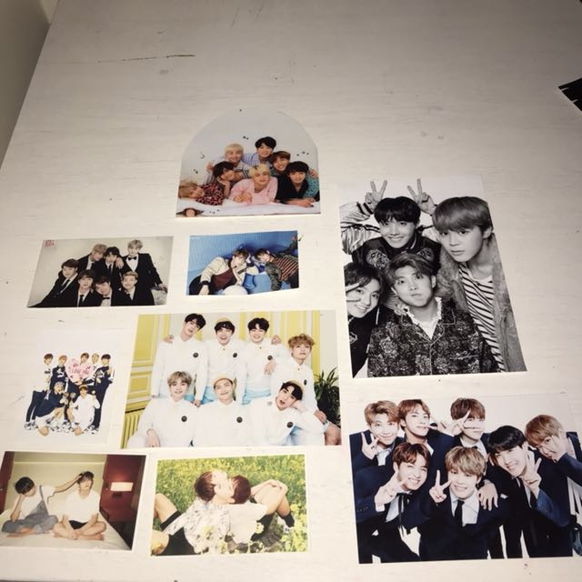 BTS Unofficial Group Pcs