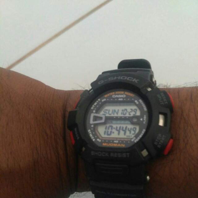 Casio G-Shock Mudman 9000 Batangan
