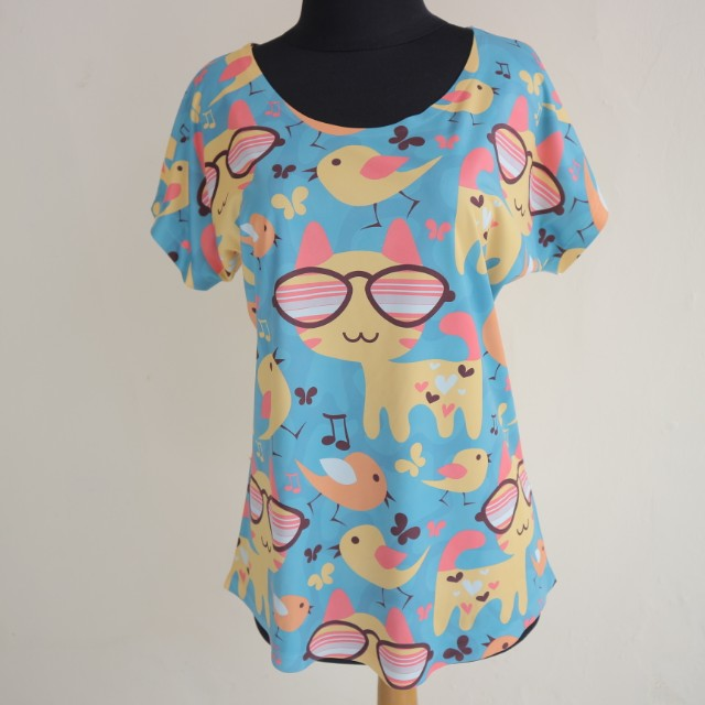 Cat Korean T-shirt
