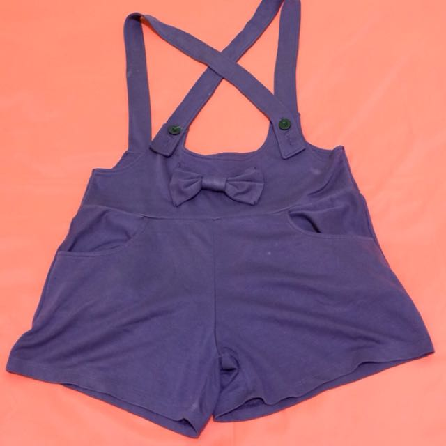 Celana kodok ungu