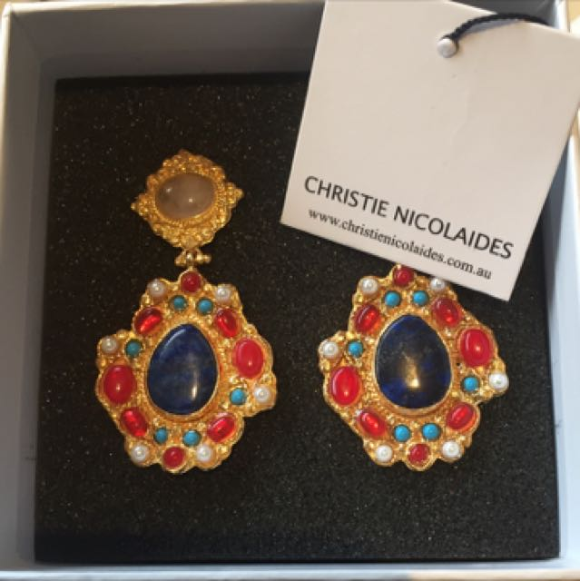 Christine Nicoliads Earrings