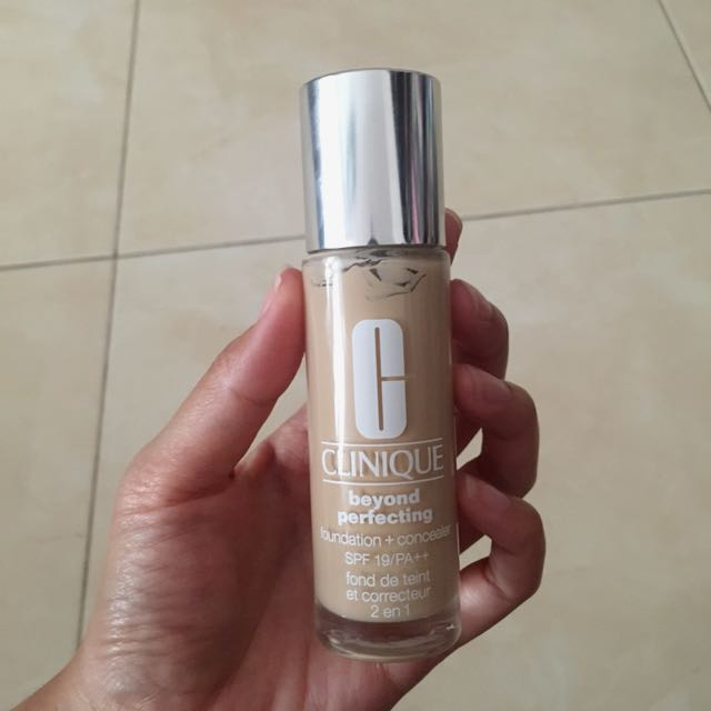 clinique 2 in 1 foundation+concealee