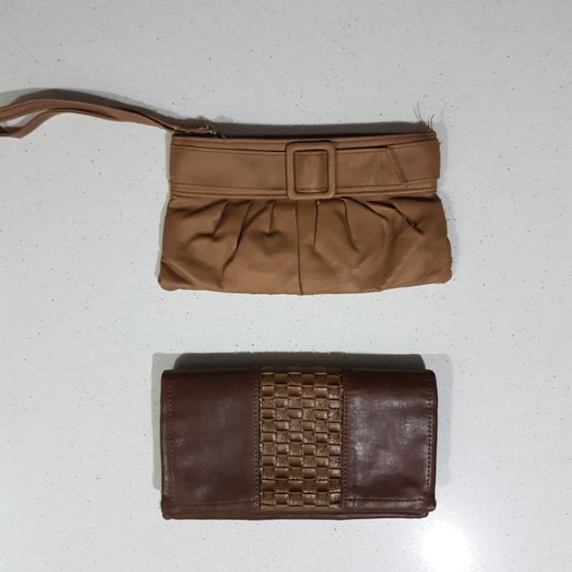 Clutch & Wallet