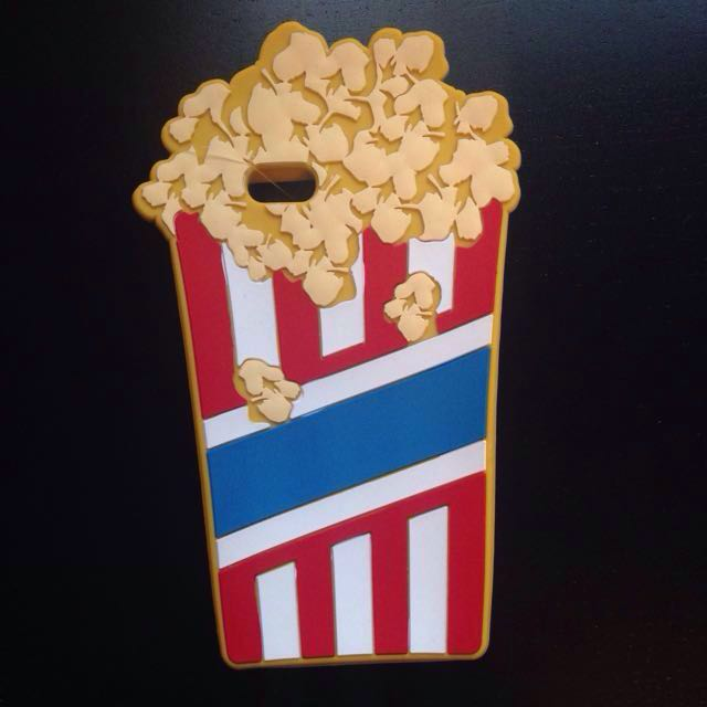 Cotton On cute popcorn phone case (compatible with iPhone 6)