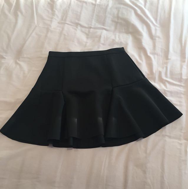 Cotton On Peplum Mini Skirt