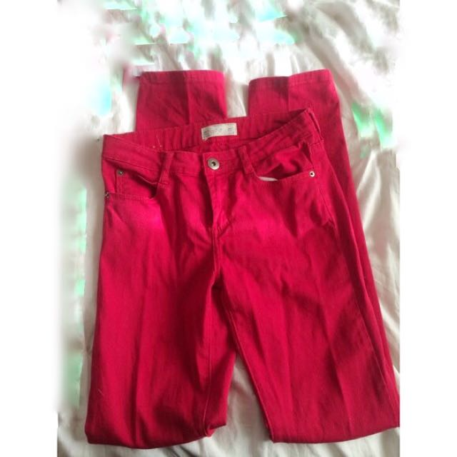 Cotton On (Red Jeans)