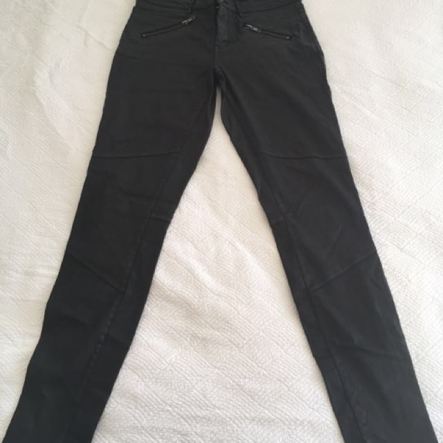 Country road - Leather Look Denim