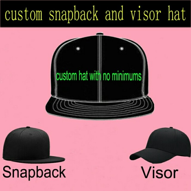 c87079092ad87 🆕🆒  PREORDER  Custom Snapback Hat Flat 3D Embroidery for Adult Men ...