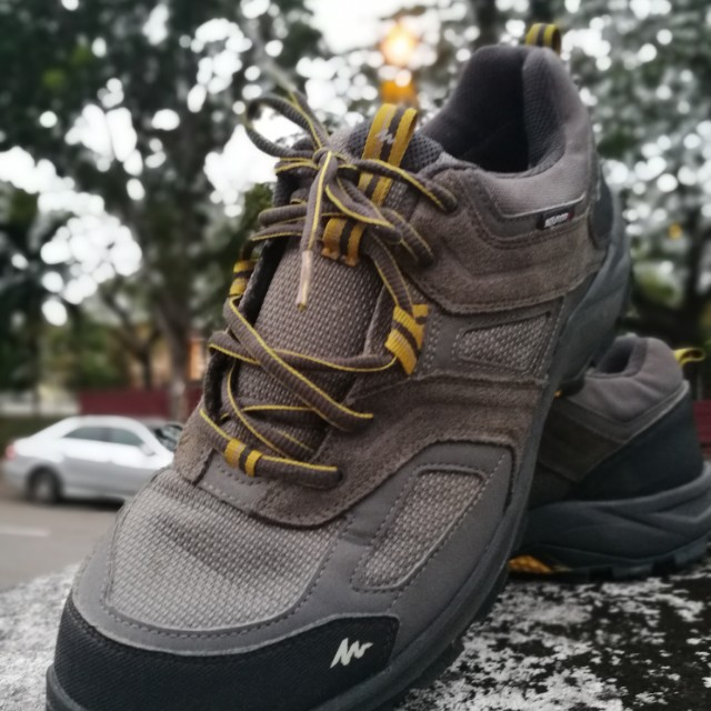new product 3e217 a9332 Decathlon Hiking Boots, Sports, Athletic   Sports Clothing on Carousell