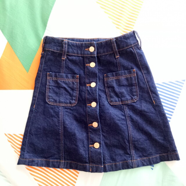 Denim Skirt H&M