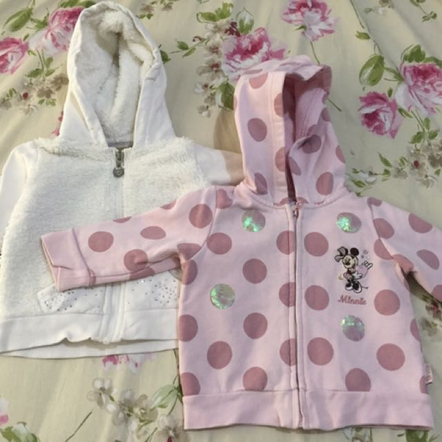 Disney Jackets for ages 12-18 months for php 400