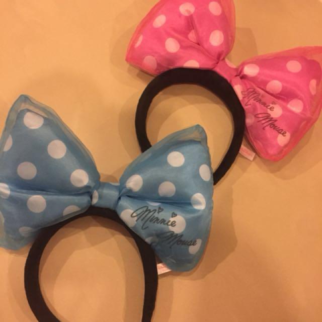 Disney mini bow headbands