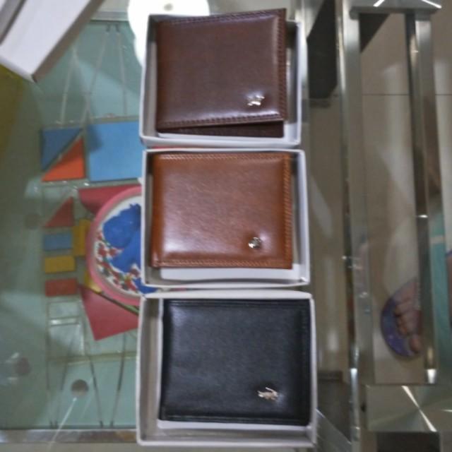 dompet lipat kulit sintetis