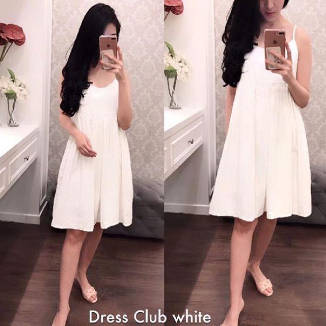Dress Club White