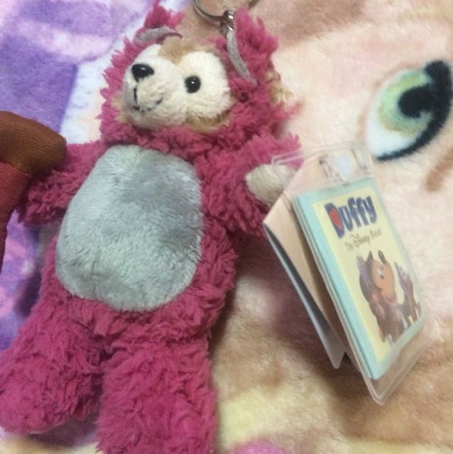 Duffy Disney 達菲熊正版授權吊飾 熊抱哥