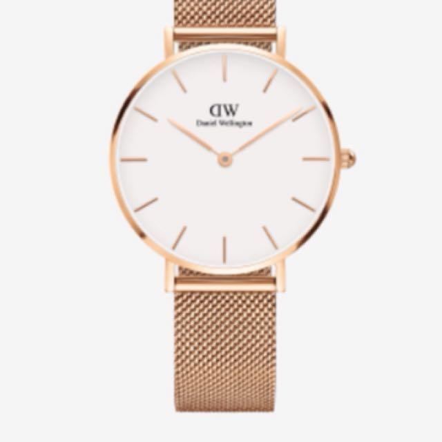 DW 手錶 金錶