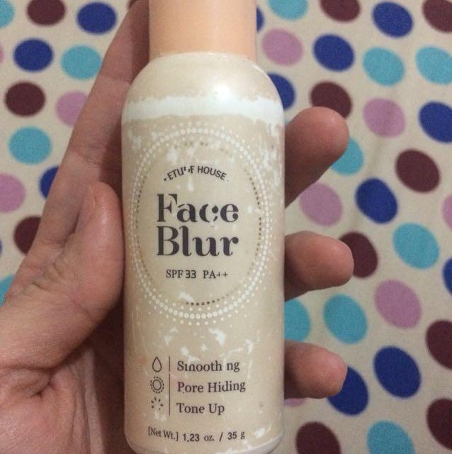 Etude house face blur, Kesehatan & Kecantikan, Kulit, Sabun & Tubuh di Carousell